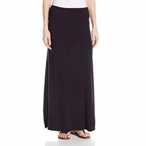 Wet Seal Black Maxi Skirt